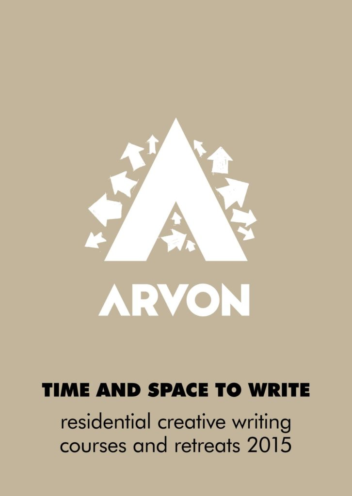 Arvon brochure 2015 cover