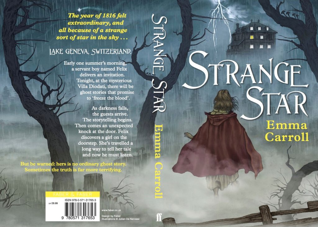 Strange Star by Emma Carroll book cover