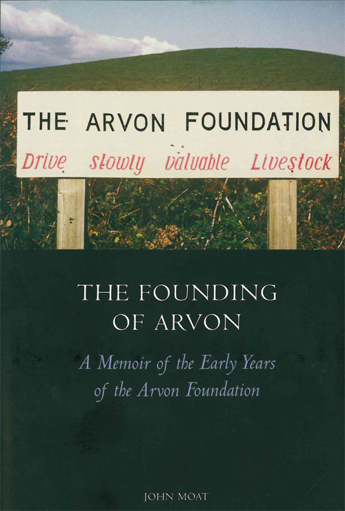 The founding of Arvon book cover
