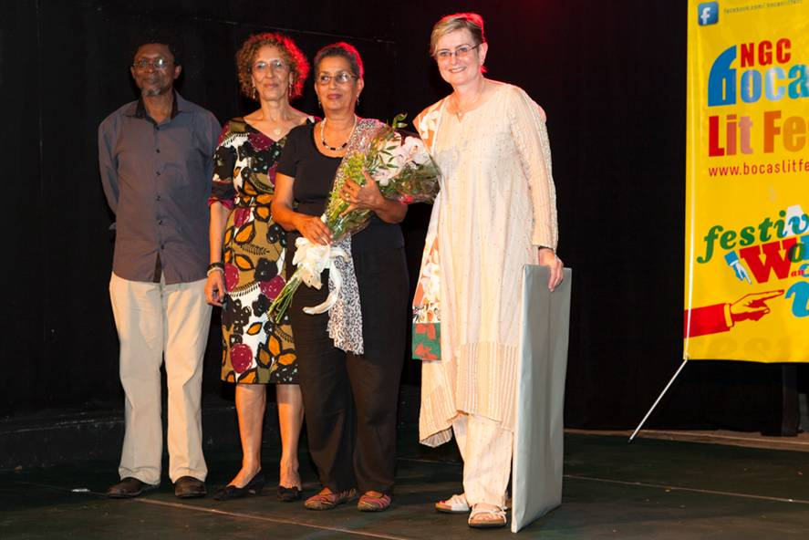 Barbara Jenkins wins the inaugural Hollick Arvon Caribbean Writers Prize